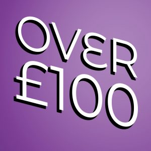 £100 or more...
